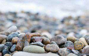 ストーンズ、小石、砕石